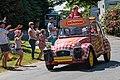 Cochonou Citroen 2CV. Tour de France 2018, St Mayeux (41560435720).jpg