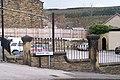 Cock Inn Gate Posts, Bridge Hill, Oughtibridge - geograph.org.uk - 766200.jpg