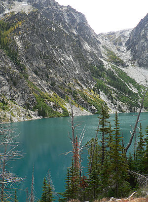 The Enchantments - Aasgard Pass is a very steep approach to the Enchantments