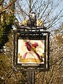 Cold Harbour, the Silent Woman pub sign - geograph.org.uk - 1591274.jpg
