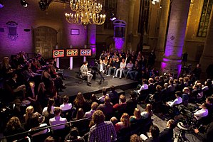 College Tour - Dutch prime minister Mark Rutte on the show in late 2011.