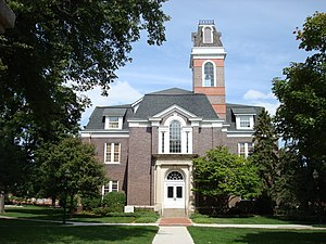 Simpson College - Historic College Hall (formerly Old Chapel)