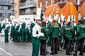 Colorado State University Marching Band, Colorado, USA - Getting Ready For The 2013 Patrick's Day Parade (8565853253).jpg