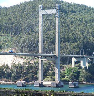 Economy of Galicia - Rande Bridge