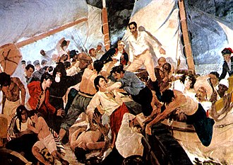 Luis Brión - Battle of Los Frailes