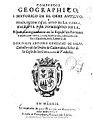 Compendio geographico i historico de el orbe antiguo i descripcion de el sitio de la tierra 1644.jpg