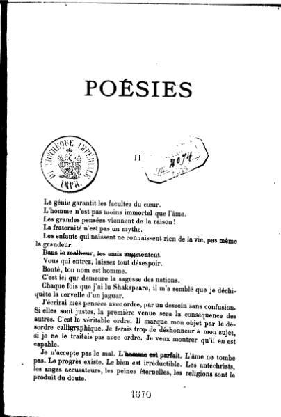 File:Comte de Lautréamont - Poésies II.djvu