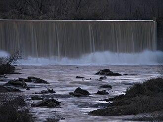 Lake Conestee Nature Park - Image: Conestee dam