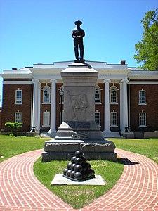 Confederate Statue, Surry, Virginia