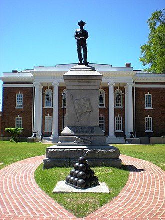 Surry County, Virginia - Image: Confederate Statue, Surry, Virginia