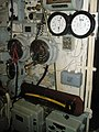 Controls on board HMS Alliance - geograph.org.uk - 1326318.jpg
