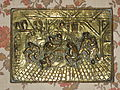 Copper plaque with fight scene in an inn.jpg