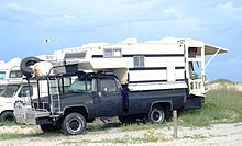 A Truck Camper Customized For Beach Driving And Offshore Fishing