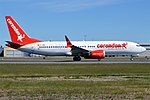 Corendon Airlines, TC-MKS, Boeing 737-8 MAX (27810136237).jpg