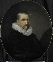 Portrait of Cornelis Jansz Hartigsvelt, Director of the Rotterdam Chamber of the Dutch East India Company, elected 1639