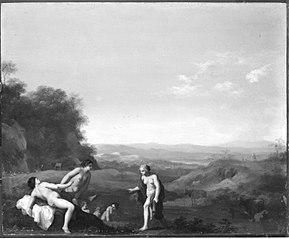 Diana entdeckt den Fehltritt der Callisto