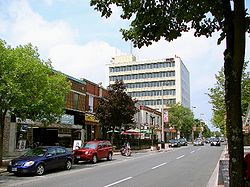 Pitt Street, downtown Cornwall