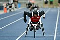 Cpl. Anthony McDaniel wins 200 meter race at 2013 Warrior Games (Image 2 of 13) (8744881674).jpg