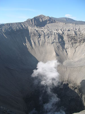 Mount Bromo - Image: Crater of Mount Bromo