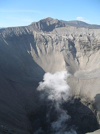 Mount Bromo - Image: Crater of Mount Bromo