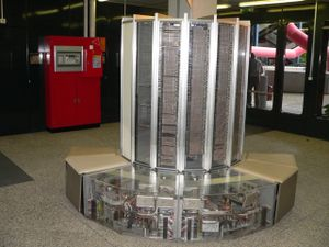 CRAY-1 (no longer used, of course) displayed i...