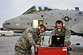 Crew chiefs launch an A-10 Thunderbolt II from Selfridge 141015-Z-MI929-006.jpg