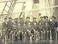 Crew of the US Army transport BURNSIDE, Washington, ca 1900 (HESTER 54).jpeg