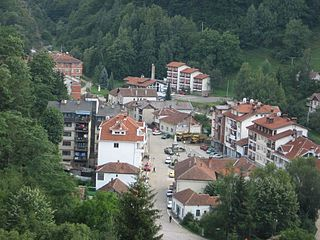 Village and municipality in Southern and Eastern Serbia, Serbia