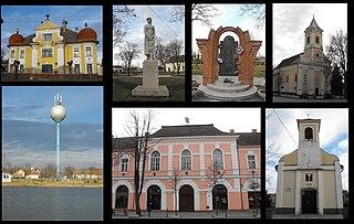Csanádpalota Town in Csongrád, Hungary
