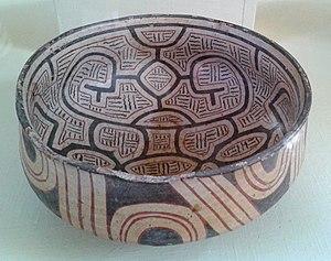 Marajoara culture - Marajoara  bowl, Museu Nacional do Brasil