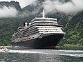 Cunard Queen Elizabeth Geiranger Norway.jpg