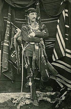 Frank Hamilton Cushing - Cushing at Zuni, ca. 1881-82., by  John K. Hillers