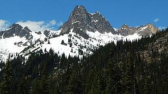 Cutthroat Peak - Image: Cutthroat Peak 8050 ft