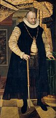 Portrait of Prince Elector August of Saxony