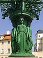 Czech-2013-Prague-Gas lamp at Prague Castle 01.jpg