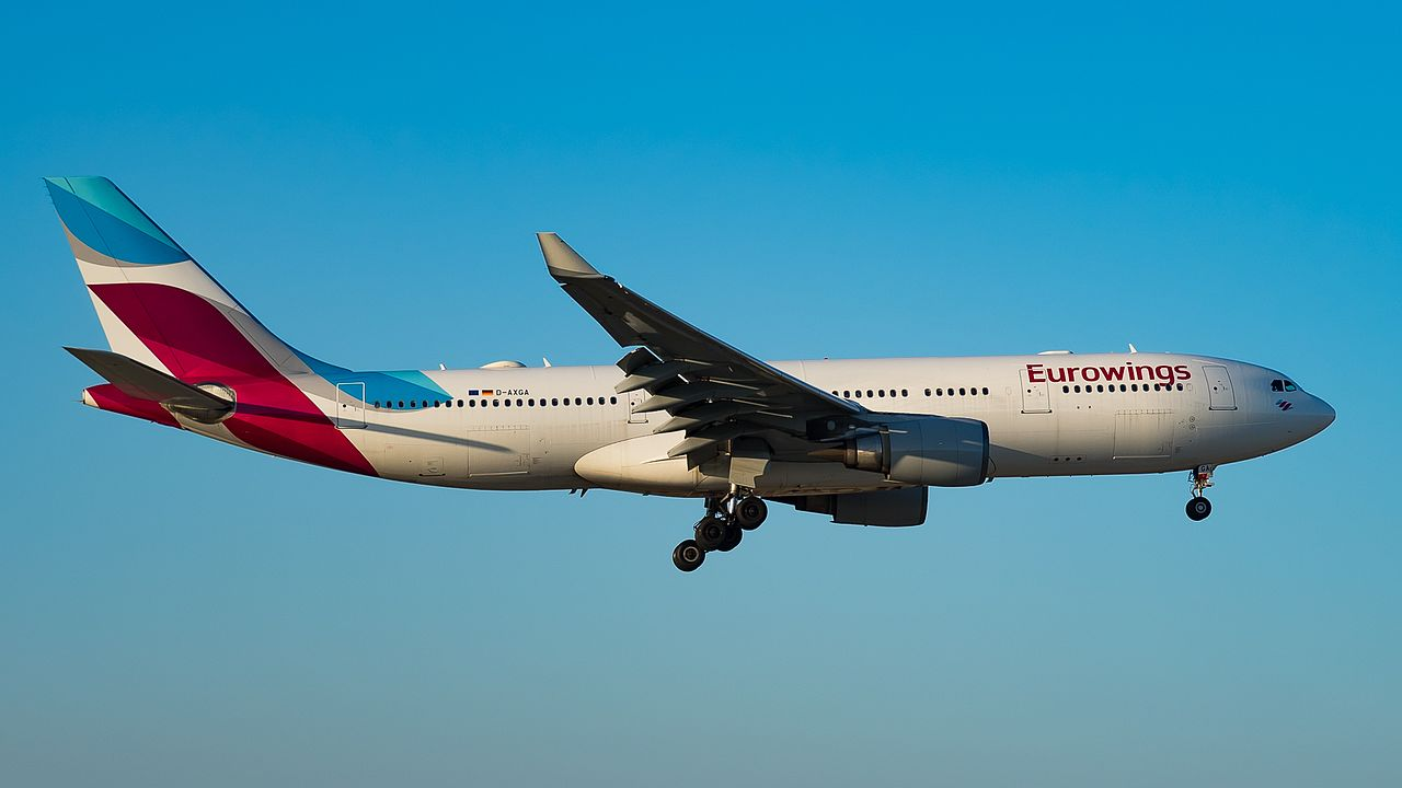 Top low cost airlines: Eurowings