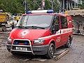 DOD metro Vypich, vozidlo Báňské záchranné služby.jpg