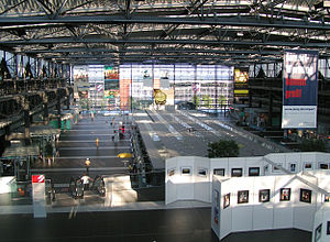 Dresden Airport - Check-in area