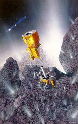 Champollion (spacecraft) - Champollion (original concept)