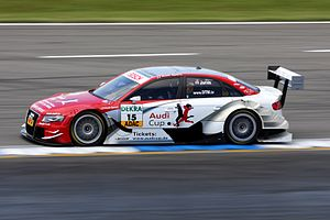 English: DTM Audi A4, Oliver Jarvis (driver)