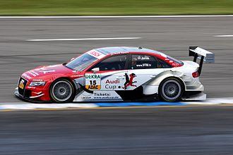 Phoenix Racing (German racing team) - Oliver Jarvis racing for Audi Sport Team Phoenix in 2009.
