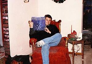 Doug Timm - Doug holding his Nightflyers Album
