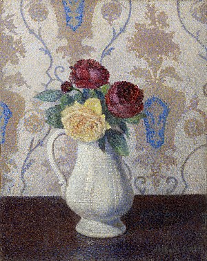 1885 in art - Image: DUBOIS PILLET Roses