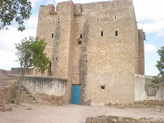 Mohammed Abdullah Hassan - historic Daarta Sayyidka Dervish fort in Eyl.