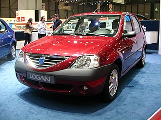 No frills - The no-frills 2004 Dacia Logan