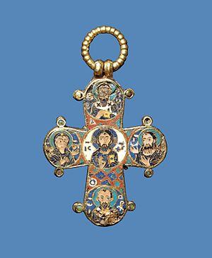 Dagmar of Bohemia - Image: Dagmarkorset 2C bagside DMR 167928 original