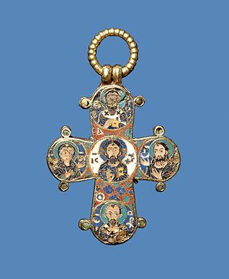 Dagmar of Bohemia - Reverse of Dagmar Cross
