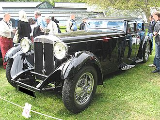 Lord Peter Wimsey - A Daimler double-six V12 50hp four-door saloon made for Anna Neagle and given to her by her husband
