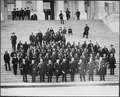 Dakota delegation on steps of the U.S. Capitol Building. - NARA - 523641.tif