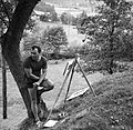 Dan v slikarski koloniji v Izlakah, France Slana 1965.jpg